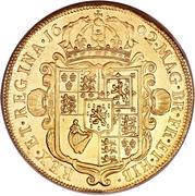 5 Guineas - William & Mary – reverse