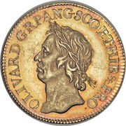 1 Broad - Oliver Cromwell – obverse
