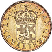 1 Broad - Oliver Cromwell – reverse