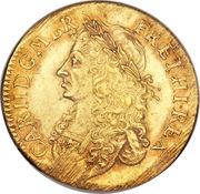 1 Broad - Charles II (Pattern) – obverse