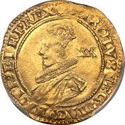 I Unite - Charles I (group B; 2nd bust) – obverse