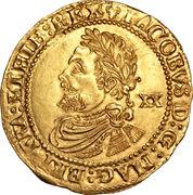 1 Laurel - James I (3rd coinage) – obverse