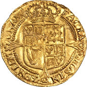 1 Laurel - James I (3rd coinage) – reverse