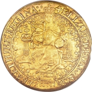 1 Sovereign - Elizabeth I (2nd issue) – obverse