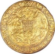 1 Sovereign - Elizabeth I (2nd issue) – reverse