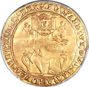 1 Sovereign - Edward VI (2nd period) – obverse