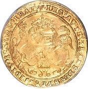 1 Sovereign - Edward VI (2nd period) – reverse