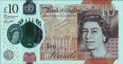 10 Pounds - Elizabeth II (Jane Austen; polymer) – obverse