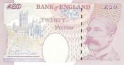 20 Pounds - Elizabeth II (Sir Edward Elgar) – reverse