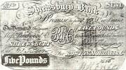 5 Pounds (Shrewsbury Bank) -  obverse