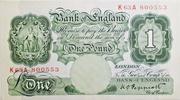 1 Pound (Series A; Britannia, without thread) -  obverse