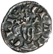 1 Farthing - Edward I (Class 3d; southern mints) – obverse