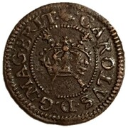 1 Farthing - Charles I (Maltravers issue; types 1-3) – obverse