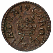 1 Farthing - Charles I (Richmond issue;  type 2) – obverse