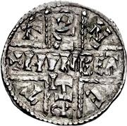 Penny - Æthelwulf – reverse