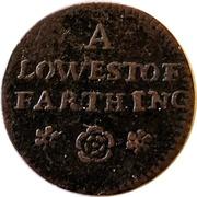 Farthing - Suffolk (Lowestoft/Town) – reverse