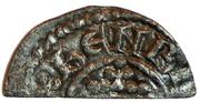 ½ Penny - Henry II (Short Cross type; class 1b) – obverse