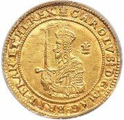 Triple Unite - Charles I (Oxford mint) – obverse