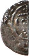 ½ Penny - Richard I (Short Cross type; class 4b) – obverse