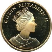 25 Euro - Elizabeth II (Hong Kong returns to China) – obverse