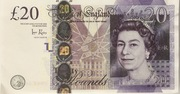 20 Poond - Movie Money (20 Pounds Adam Smith) – obverse