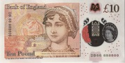 10 Poond - Movie Money (10 Pounds Jane Austen) – reverse