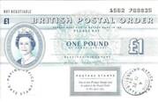 1 Pound (Postal Order) – obverse