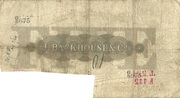 5 Pounds (Darlington Bank) – reverse