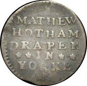 Halfpenny (Yorkshire - York / Mathew Hotham) – obverse