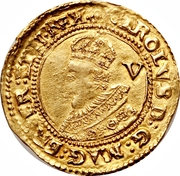 1 Crown - Charles I (Tower mint; 1st bust) -  obverse