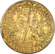 1 Rose-ryal - James I (2nd coinage) – obverse