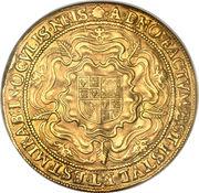 1 Rose-ryal - James I (2nd coinage) – reverse