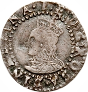 1 Penny - Elizabeth I (7th issue) – obverse