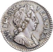 1 Farthing - William III (Proof) – obverse