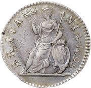 1 Farthing - William III (Proof) – reverse