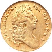 1 Guinea - William III (1st bust) – obverse