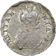 1 Farthing - James II (1st type) – reverse