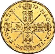 5 Guineas - Charles II (1st bust) – reverse