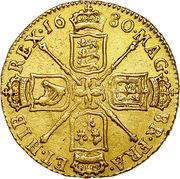 1 Guinea - Charles II (4th bust) – reverse
