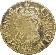 1 Farthing - Oliver Cromwell – reverse