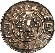 Penny - Æthelred II (2nd Hand type) – obverse
