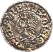 Penny - Æthelred II (Long Cross type) – obverse