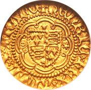 ¼ Noble - Henry V – obverse