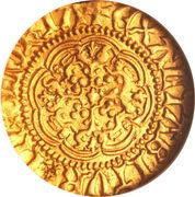 ¼ Noble - Henry V – reverse