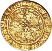 ¼ Noble - Richard II – reverse