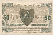 50 Heller (Enns) -  reverse