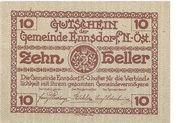 10 Heller (Ennsdorf) -  obverse