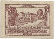 10 Heller (Ennsdorf) -  reverse