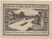 50 Heller (Ennsdorf) – reverse
