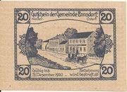20 Heller (Ennsdorf) – reverse